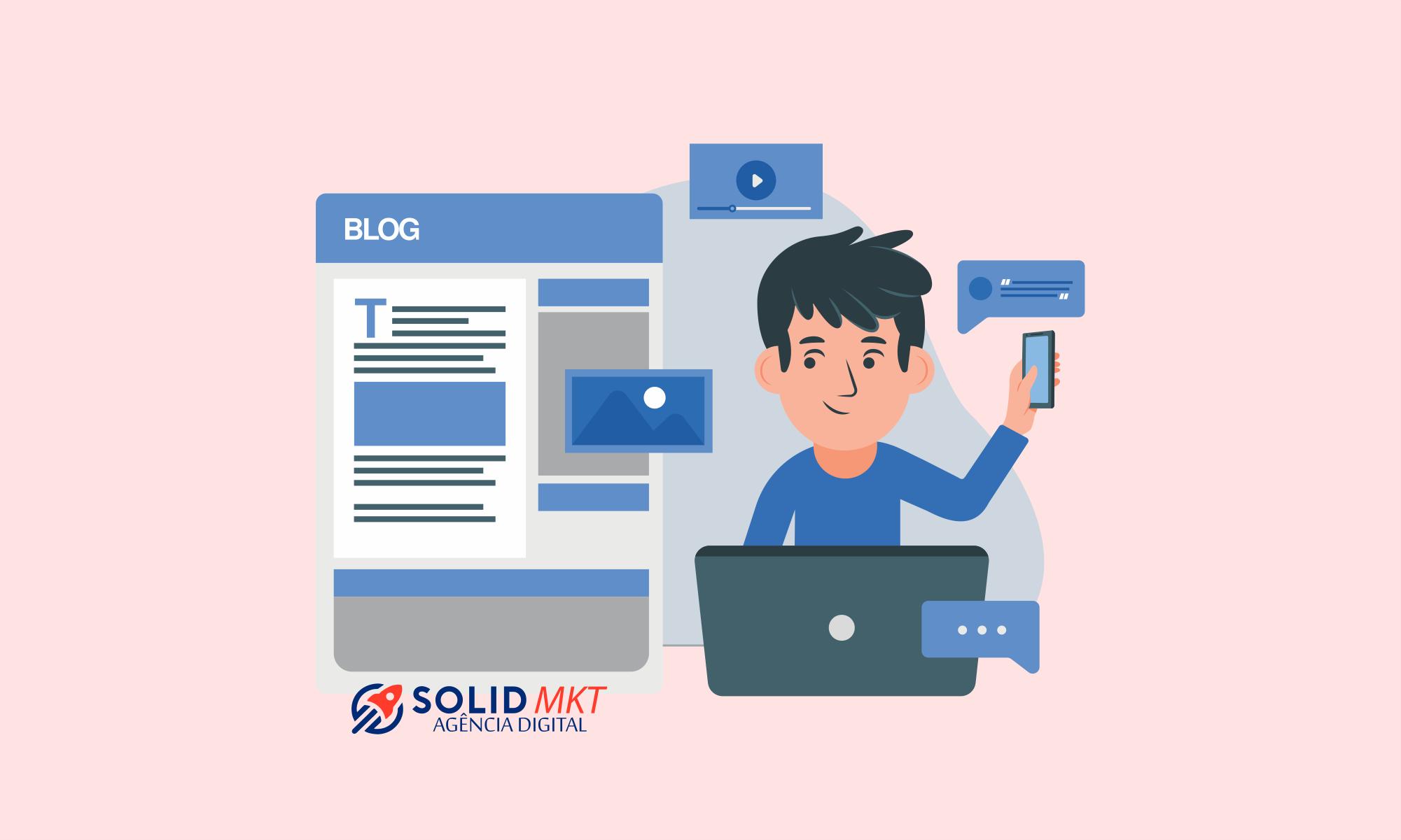 Agência Solid - Aprenda a conquistar novos clientes com marketing digital